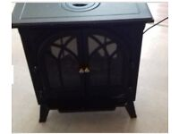 Electric stove fire