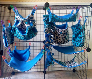 Fleece Accessories for Small Pets/Rodents/Reptiles