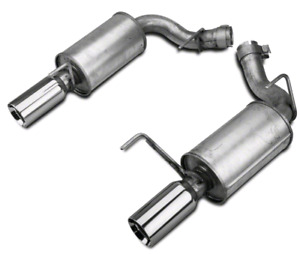 Used Ford mustang fr500s axle back exhaust for sale or trade.