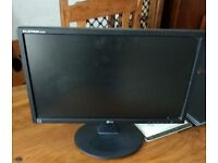 """LG 22"""" 1920x1080 HD Monitor"""