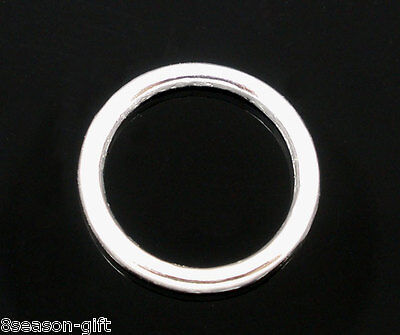 925 Sterling Silver 7mm Closed Twisted Jump Rings 20 pcs  #5504-7
