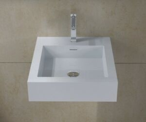 solid surface bathroom sinks wall hung solid surface modern mounted bathroom sink 20595
