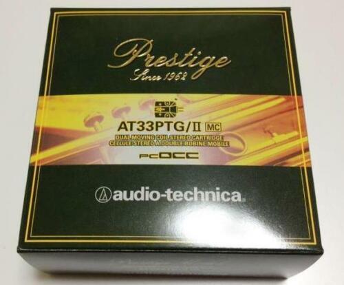 Brand-new Audio-Technica MC Cartridge AT33PTG/II  ( AT 33 PTG II )