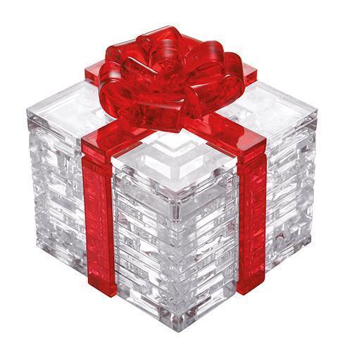 Neu Crystal Puzzle - Geschenkbox 3D Puzzles Kristallpuzzle Kristall Puzzle!136