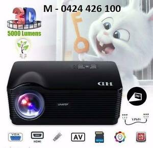 5000Lumens HD 1080P LED Projector 3D Home Cinema HDMI/USB/SD/VGA Noble Park Greater Dandenong Preview
