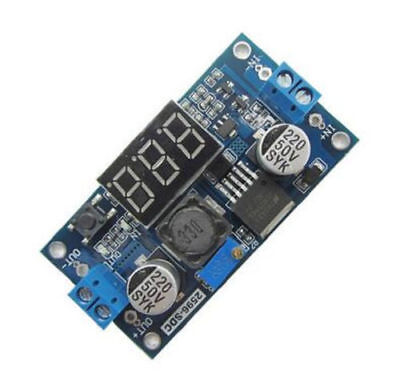 5pcs Lm2596s Dc-dc Adjustable Step Down With Digital Display Buck