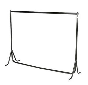 6-Feet-HEAVY-DUTY-RAIL-Cloth-Garment-Display-FISHTAIL