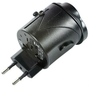 Travel Universal Power Adapter w/ Safety Circuit (New)