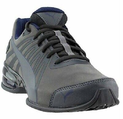 PUMA CELL KILTER CROSS LOW TRAINERS SPORTS SNEAKERS MEN SHOES GRAY SIZE 12 NEW