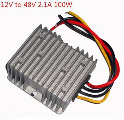Waterpr Voltage Booster Power Dcdc Converter Step Up Regulator 12v To 48v 2.1a