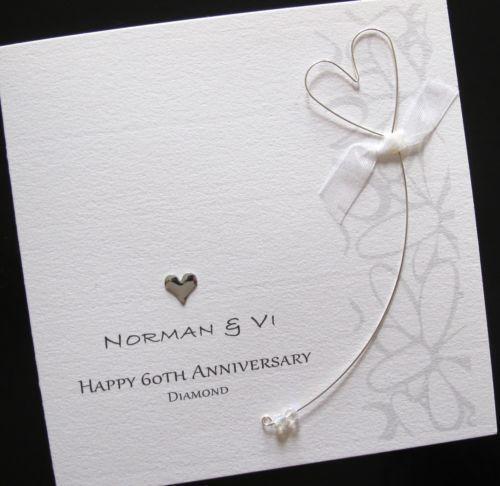 Diamond Wedding Card Ebay