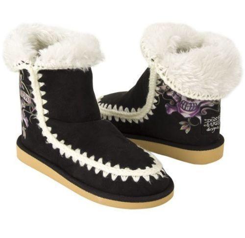 Ed Hardy Love Kills Boots Ebay