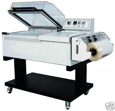 New EntrePack 2-in-1 Combination L-Bar & Shrink Wrap Seal Machine model SW-450 for sale  South El Monte