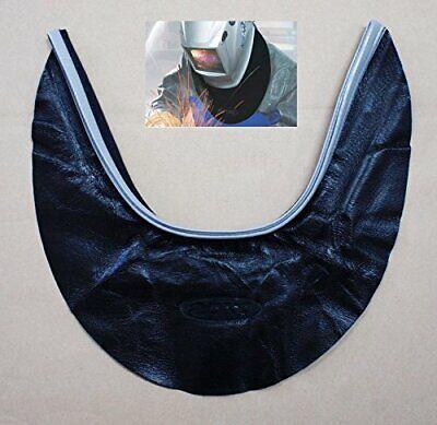 Hq Protector Cover Seal Hood Spatter Leather Weld Welding Helmet Neck