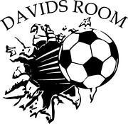 Football Bedroom Stickers