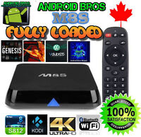 ANDROID BROS® TV BOX *M8S QUAD CORE*RATED #1