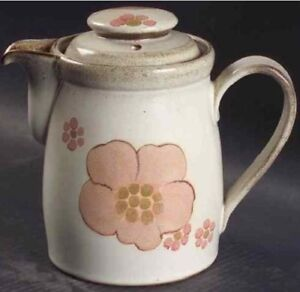 """Denby """"Gypsy"""" COFFEE POT with LID-VINTAGE"""