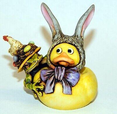 Neil Eyre eyreDesigns Easter Bunny Duck ears tree frog Chicken eggs bird nest