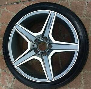 1X 18inch AMG C63 OEM MERCEDES REAR ALLOY WHEEL★5X112★255 35 R18 Chipping Norton Liverpool Area Preview