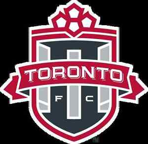 2 TFC Playoff tickets in centre field 9 rows up