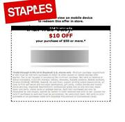 Staples Coupon 10 Off 10
