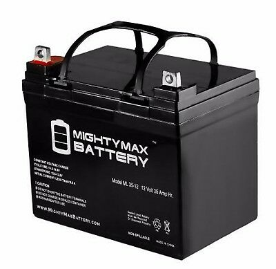 - TWO 12V 35AH U1 Batteries Gel for Scooters, Power Chairs, Golf Carts, etc
