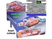 brand new in box disney cars kids juniors children bed single size