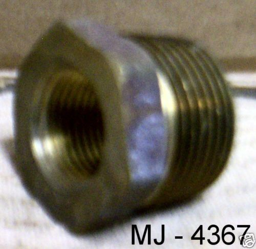 Brass Threaded Reducer Bushing (NOS)