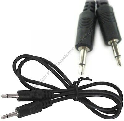 """2ft 1/8"""" MONO Male-M, 3.5mm Audio 2'Cable,2 conductor"""