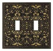 Antique Brass Switch Plate