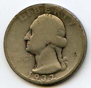 1932 D Quarter