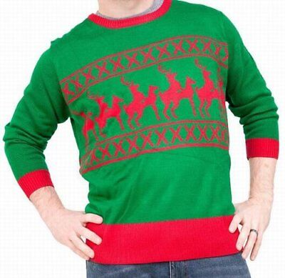 Used, Ugliest Christmas Sweater Reindeer Games Inappropriate Reindeer Dance Size XL for sale  Keystone Heights