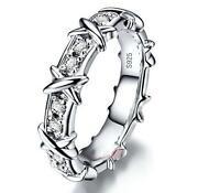 Silver Cross Ring Womens