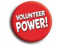 Volunteers Wanted - Approx 3 hours per week