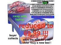 brand new in boxes disney cars bed