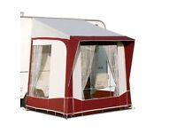 Bradcot porch awning red