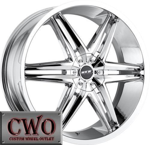 Malibu Chrome Wheels 18