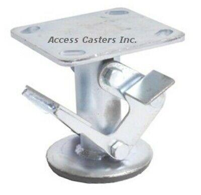 4astfl 4 Standard Floor Lock Zinc Plated Foot Operated