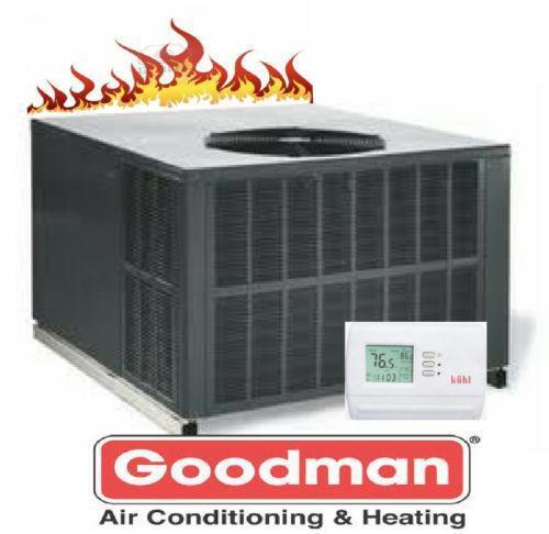 goodman package unit heating cooling air ebay. Black Bedroom Furniture Sets. Home Design Ideas