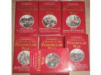 SIR CHARLES OMAN A HISTORY OF THE PENINSULAR WAR / full set VOLUMES 1 - Vll