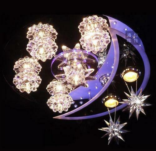 Star Chandelier Ebay