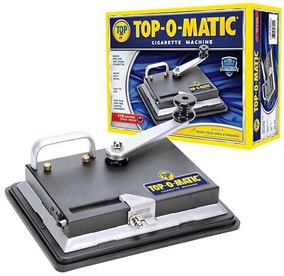 Top-o-Matic Tobacco Injector Making Cigarette Machine King Size Wholesaler USA