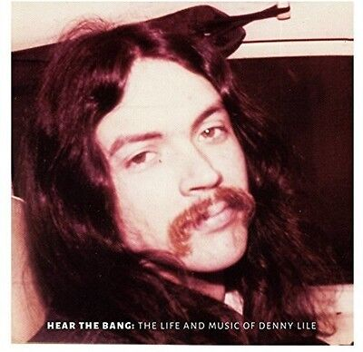 Denny Lile   Hear The Bang  New Vinyl Lp  With Dvd