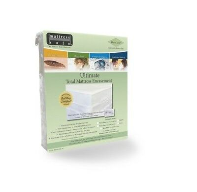 Mattress Safe - KleenCover Mattress Safe Ultimate Total Mattress Encasement King New Free Shipp