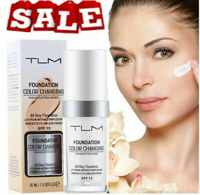 Magic Flawless Color Changing Foundation TLM Makeup Change Skin Tone CC HOT UK#