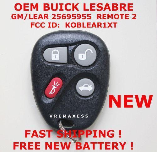 Buick Lesabre Remote Ebay