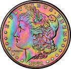 Rainbow Morgan Dollar