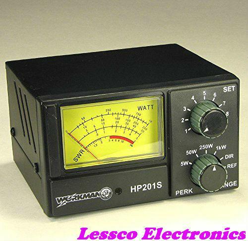 Workman HP201S SWR/Power Meter for CB Radio 5 50 250 1000 Watts