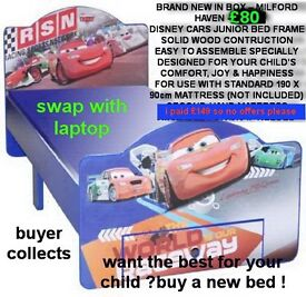 brand new in box disney cars bed