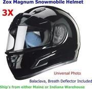 ZOX Snowmobile Helmet